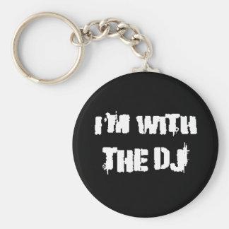 Estoy con DJ Llavero Personalizado