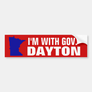 Estoy CON EL gobierno DAYTON Pegatina Para Auto