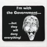 Estoy con el gobierno… tapete de ratón
