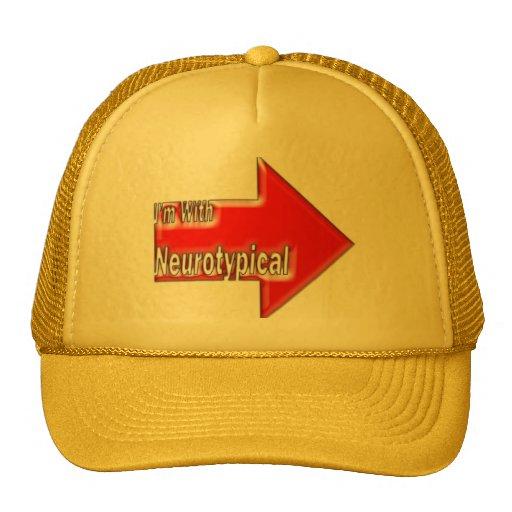 Estoy con el gorra de Neurotypical