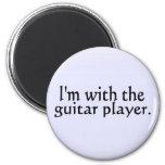 Estoy con el guitarrista iman de nevera