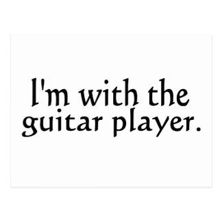 Estoy con el guitarrista postal