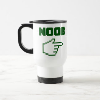 Estoy con el Newbie de Noob Tazas De Café