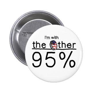 Estoy con el otro 95% pin redondo de 2 pulgadas