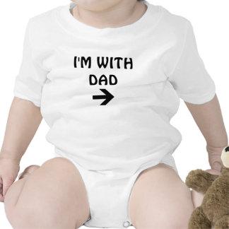 Estoy CON EL PAPÁ Trajes De Bebé