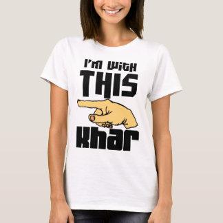 Estoy con este Khar Playera