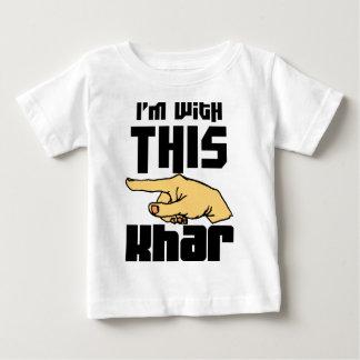 Estoy con este Khar Playera De Bebé