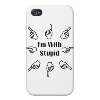 Estoy con estúpido iPhone 4 carcasa