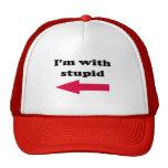 Estoy con estúpido gorras de camionero
