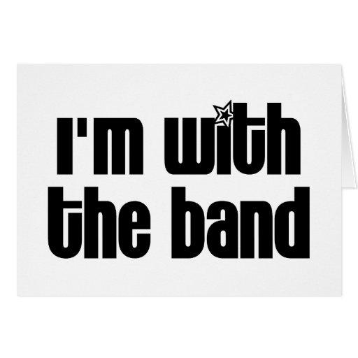 Estoy con la banda felicitacion