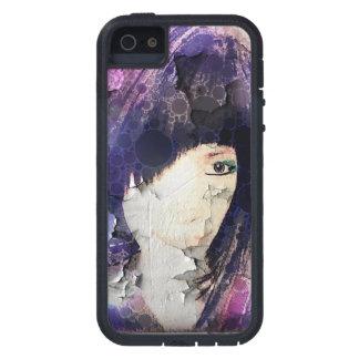 Estoy con la caja púrpura del iPhone de la peluca Funda Para iPhone 5 Tough Xtreme