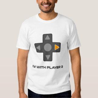 Estoy con la camisa del videojuego del jugador 2