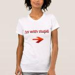 Estoy con la camiseta menuda de las señoras