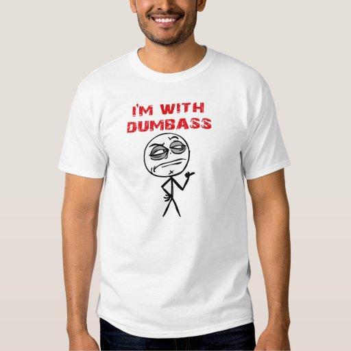 Estoy CON la figura camiseta del palillo de Camisas