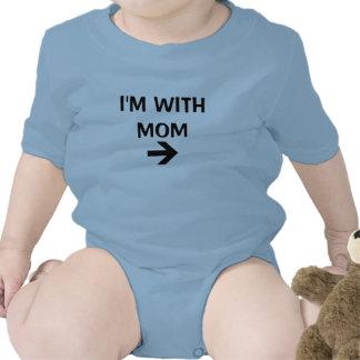 Estoy CON LA MAMÁ Traje De Bebé