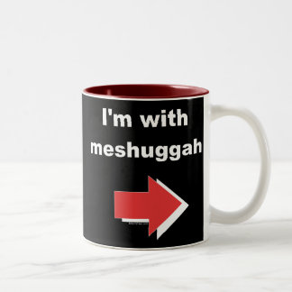 Estoy con la taza de Meshuggah