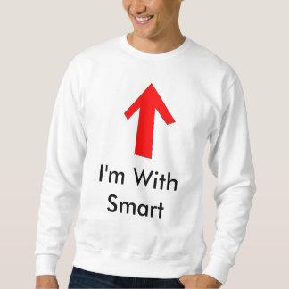 Estoy con Smart… Sudaderas Encapuchadas
