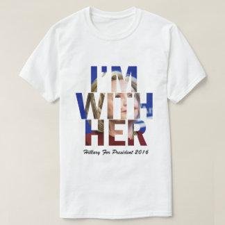 Estoy con su Hillary Clinton Playera