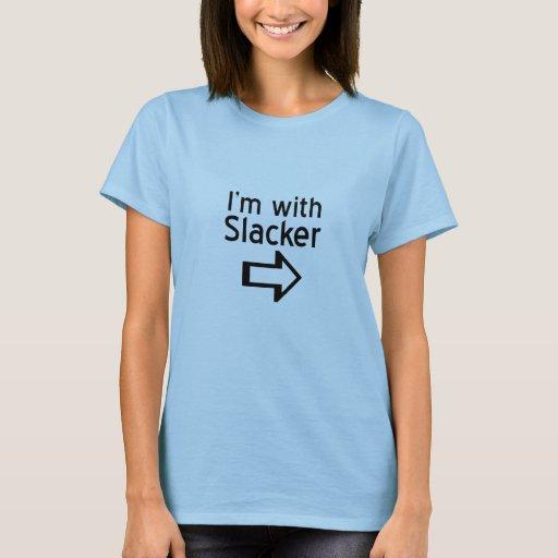 Estoy con una camiseta más floja