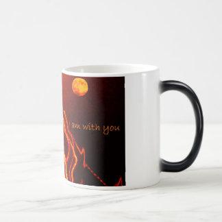 Estoy con usted tazas de café