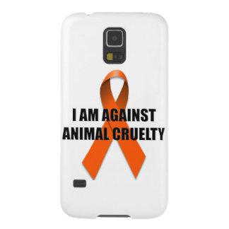 Estoy contra la crueldad animal funda de galaxy s5