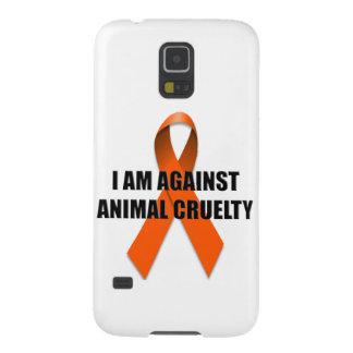 Estoy contra la crueldad animal carcasa para galaxy s5