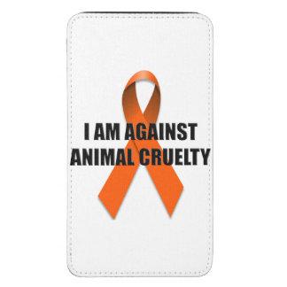 Estoy contra la crueldad animal funda para galaxy s5