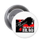 Estoy contra la guerra en Iraq Pins