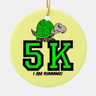 Estoy corriendo 5K Ornamento Para Reyes Magos