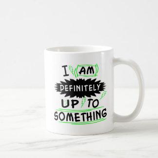 Estoy definitivamente hasta algo tazas de café