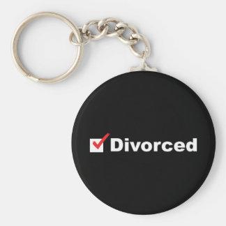 Estoy divorciado y disponible llavero personalizado