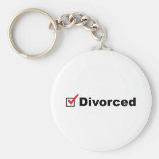 Estoy divorciado y disponible llavero
