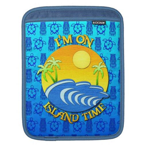 Estoy el tiempo de la isla mangas de iPad