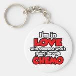 Estoy en amor con alguien en Chemo Llaveros Personalizados