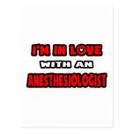 Estoy en amor con un Anesthesiologist Tarjetas Postales