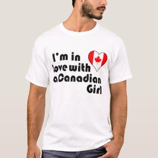 Estoy en amor con un chica canadiense playera