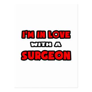 Estoy en amor con un cirujano postales
