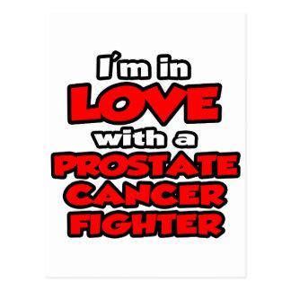 Estoy en amor con un combatiente del cáncer de postal
