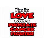 Estoy en amor con un combatiente del cáncer de pró postal
