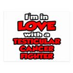 Estoy en amor con un combatiente del cáncer testic postal
