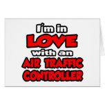 Estoy en amor con un controlador aéreo tarjeta