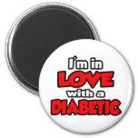 Estoy en amor con un diabético imán de frigorífico