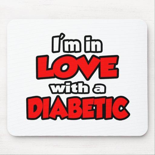 Estoy en amor con un diabético tapete de ratón