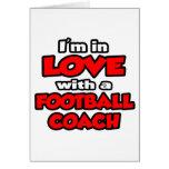 Estoy en amor con un entrenador de fútbol felicitación