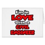 Estoy en amor con un ingeniero civil felicitaciones