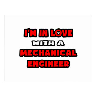 Estoy en amor con un ingeniero industrial tarjeta postal