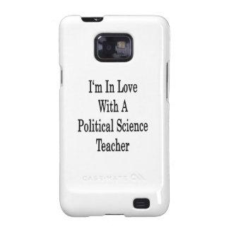Estoy en amor con un profesor de ciencias político samsung galaxy SII funda