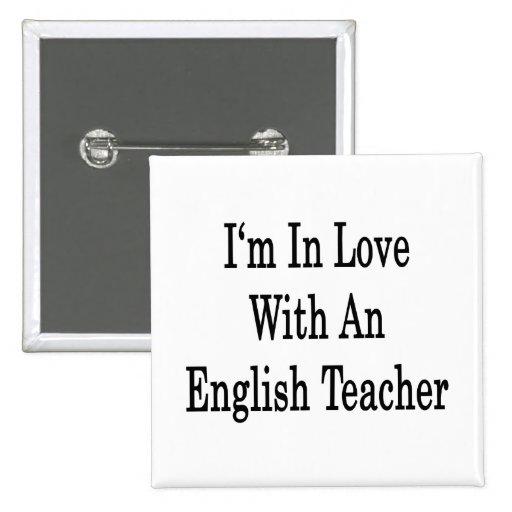 Estoy en amor con un profesor de inglés pin