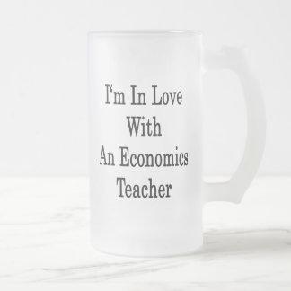 Estoy en amor con un profesor de la economía tazas de café