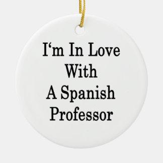 Estoy en amor con un profesor español ornamento de reyes magos